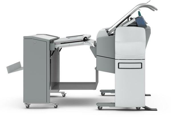 CW500 2Roll Scanner 2400 Left Side