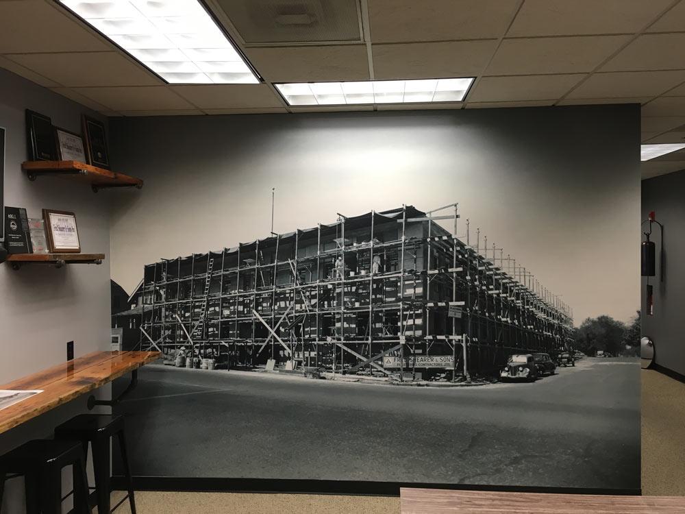 Shearer wall paper web