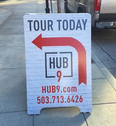 A Board Hub 9