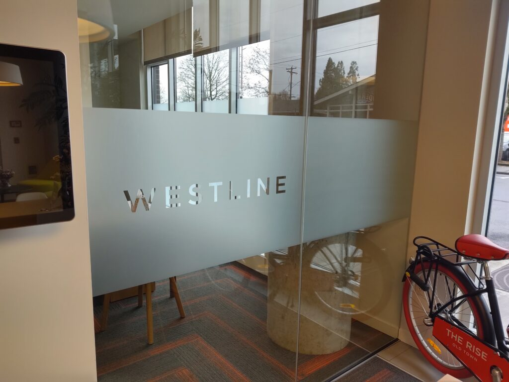 Cut Frosted Vinyl Westline